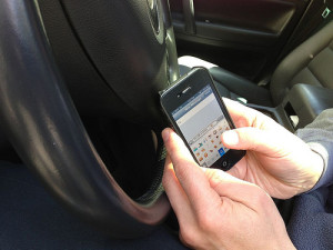 In Virginia, police officers may pull over drivers they spot texting.