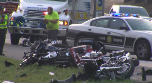 I-85 Motorcycle Crash
