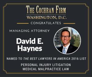 Best DC personal injury lawyer David Haynes